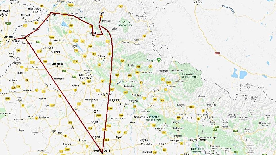 Viaggio Amritsar Dharamsala Manali