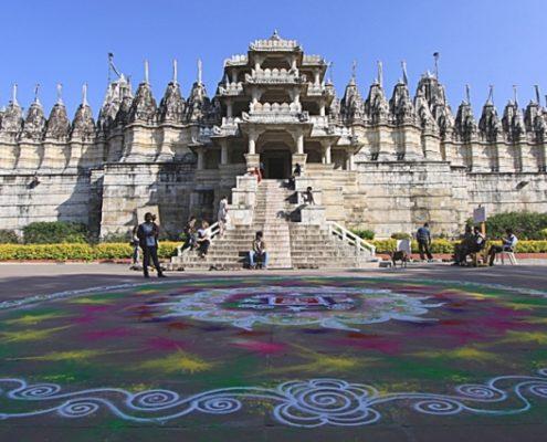 Chaturmukha il tempio Jainista di Ranakpur