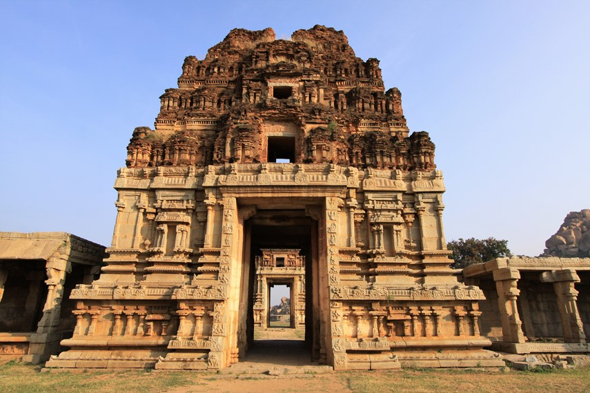 Viaggio in Karnataka Hampi: Achyutaraya Temple
