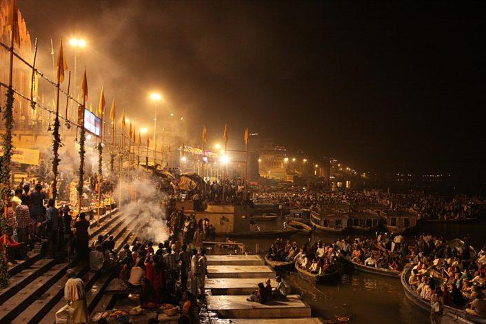 Ceriimonia Ganga Aarti, Varanasi