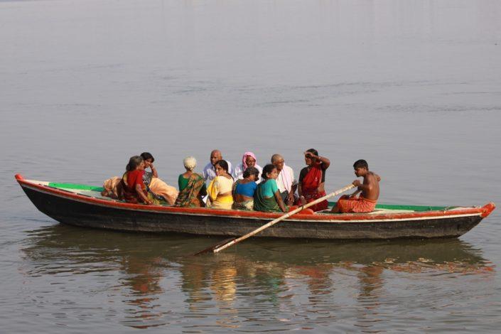 Uscita in barca sul Gange