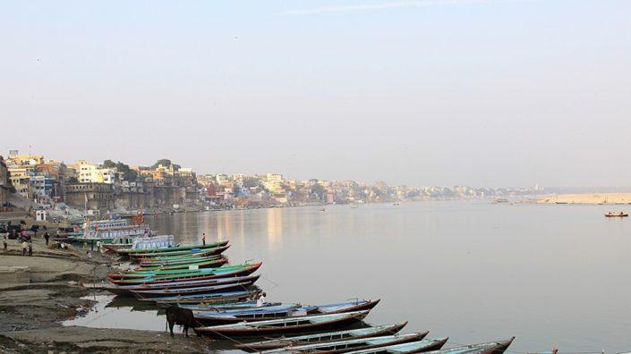 Vista di Varanasi