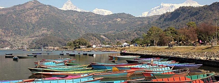 """Pokhara città dei laghi """"gioiello dell'Himalaya"""""""