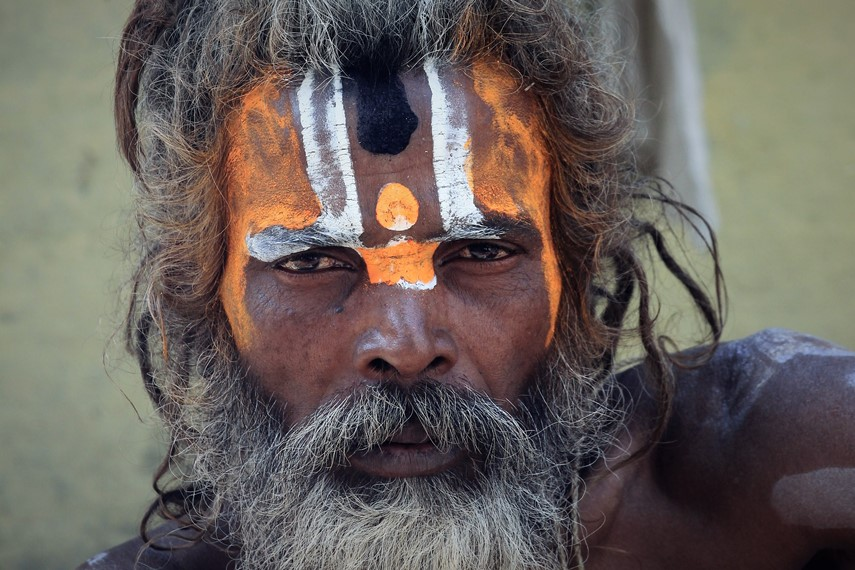 Sadhu asceta induista