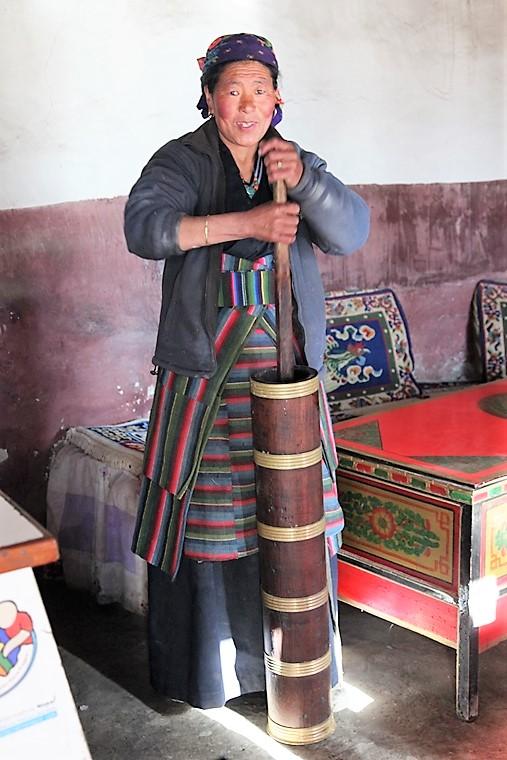 tè tibetano al burro di yak