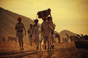 fiera dei cammelli di Pushkar