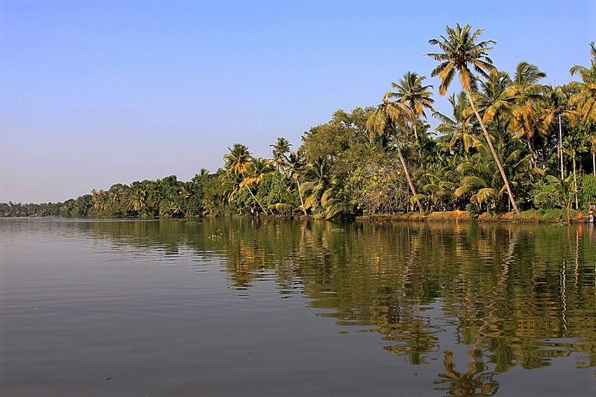 backwaters del Kerala