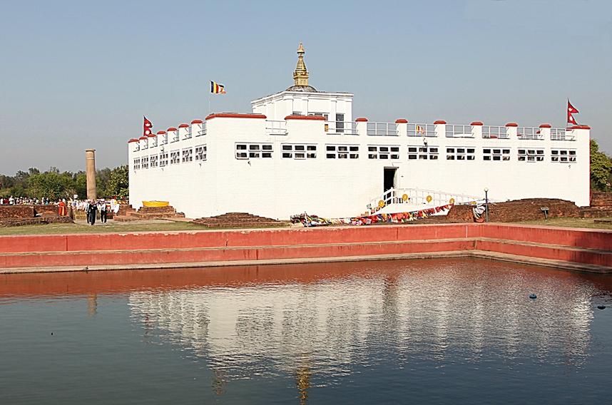 Lumbini il luogo di nascita del Buddha