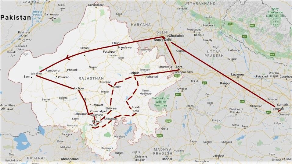 Viaggio Rajasthan Varanasi