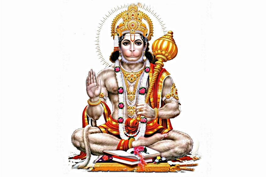 Hanuman il dio dall'aspetto di scimmia