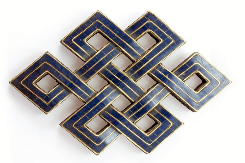 Meraviglia Classificazione Miniatura  Il simbolismo del nodo infinito o nodo eterno shrivatsa
