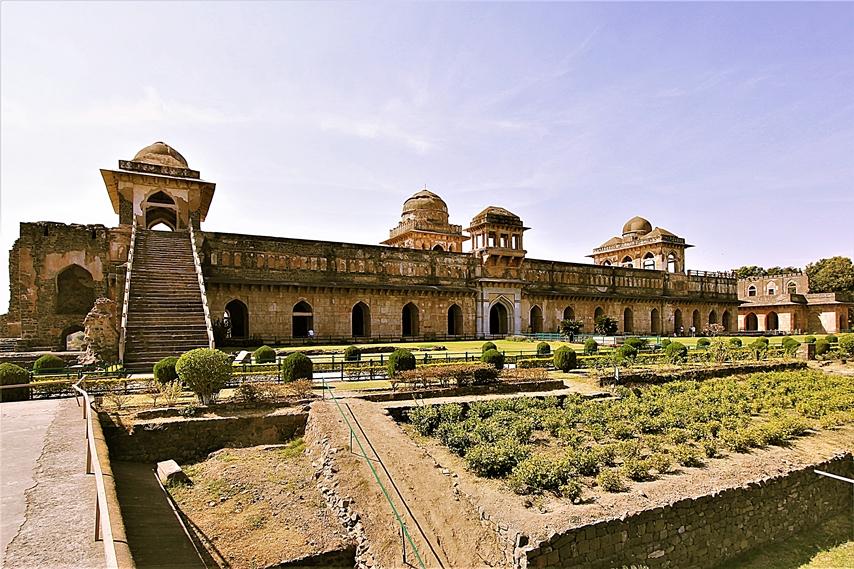 rovine abbandonate di Mandu