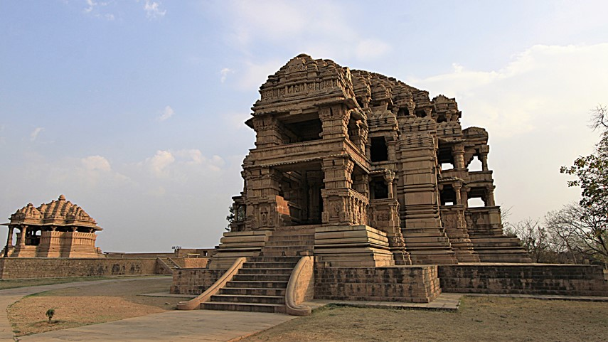città medioevale di Gwalior