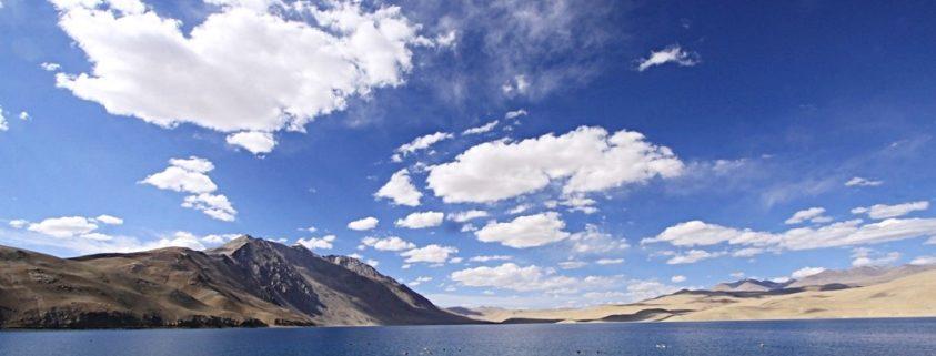lago di montagna Tso Moriri