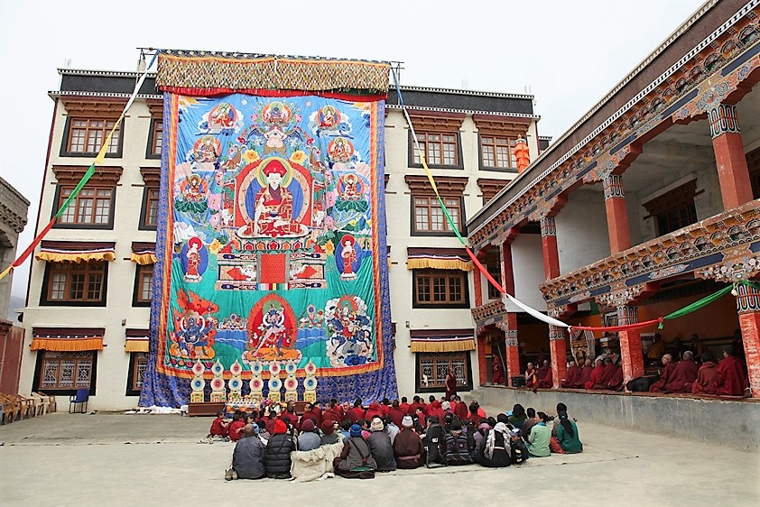 Thangka arte buddhista
