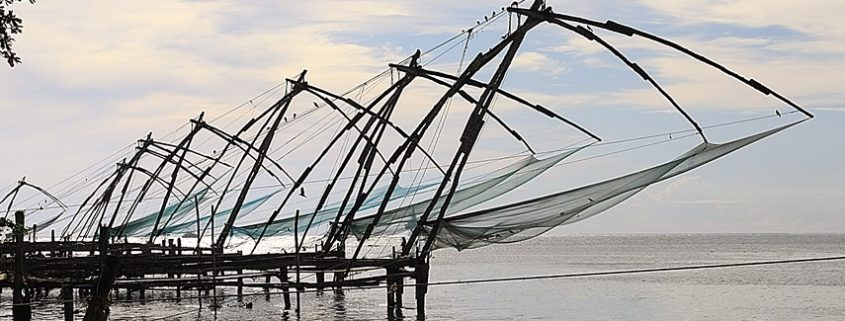 Reti da pesca cinesi