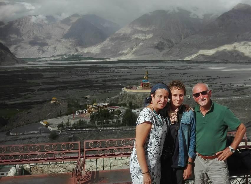Cinzia, Elio e Dario il loro incontro con un paese magico, il Ladakh