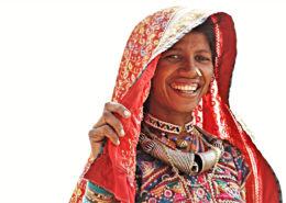 popolazione tribale del Gujarat