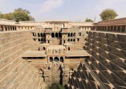 pozzo a gradini Chand Baori di Abhaneri