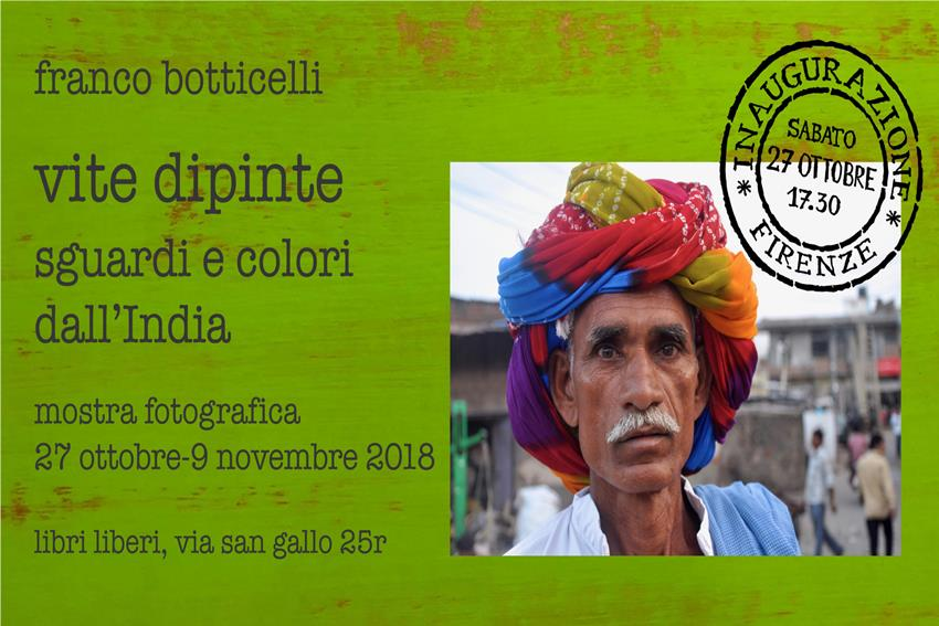 Vite dipinte - sguardi e colori dall'India