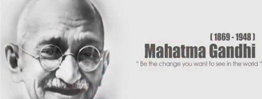 Gandhi Jayanti festa nazionale che commemora Gandhi