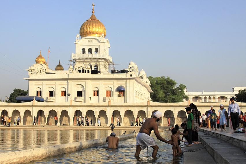Gurudwara Bangla Sahib a Delhi