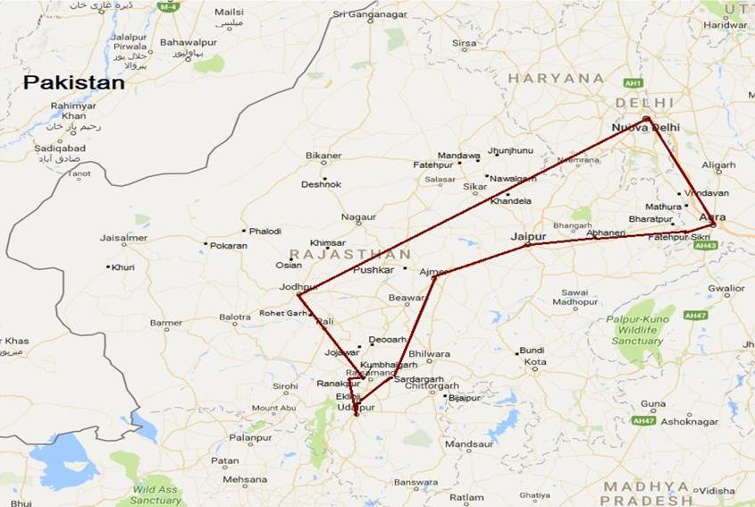 Viaggio in Rajasthan reali indiani