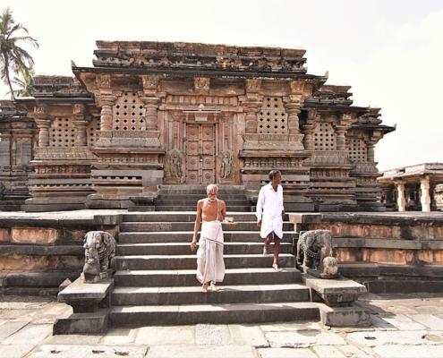 templi di Belur e Halebidu