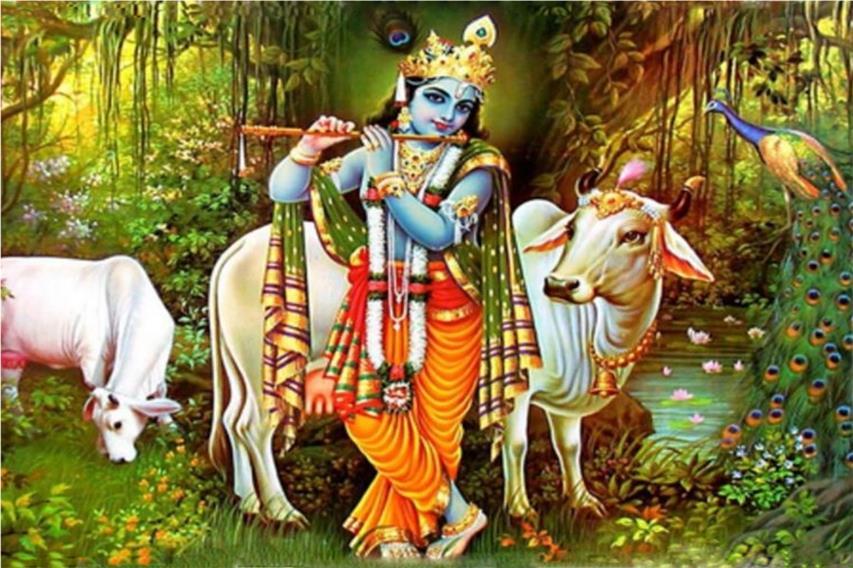 Krishna incarnazione Visnù