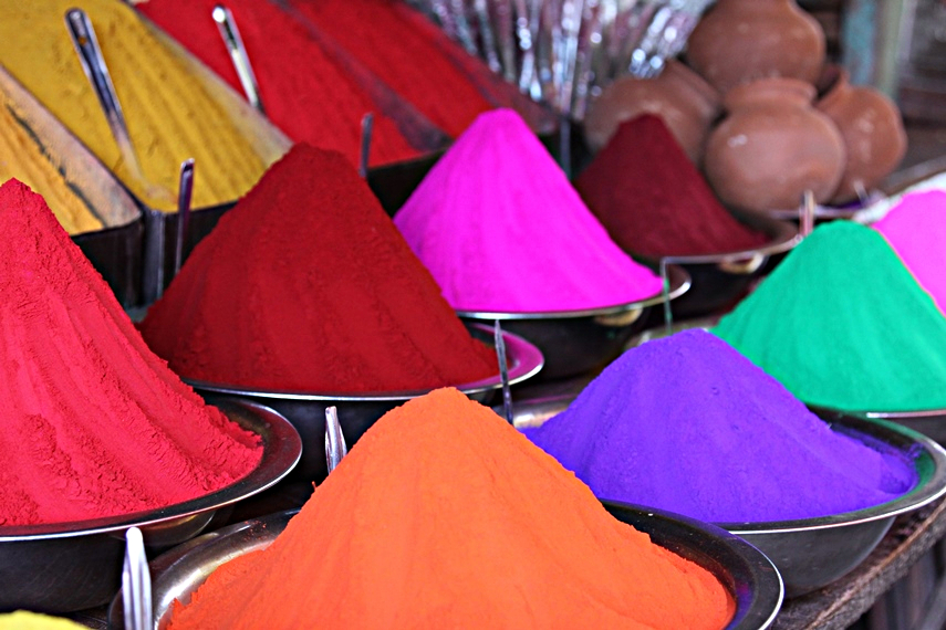 I colori nell'India