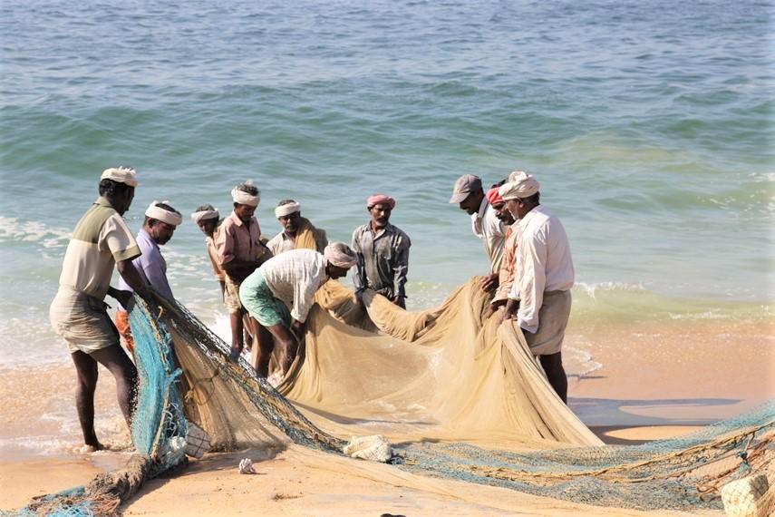 Mararikulam e la spiaggia di Marari Beach