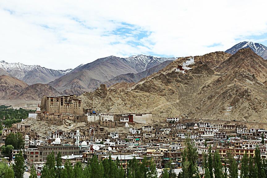 Leh capitale Himalaya
