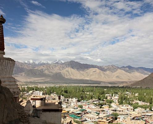 Leh capitale Himalaya indiano