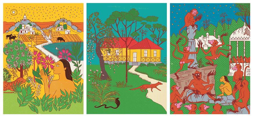 libro della giungla MinaLima
