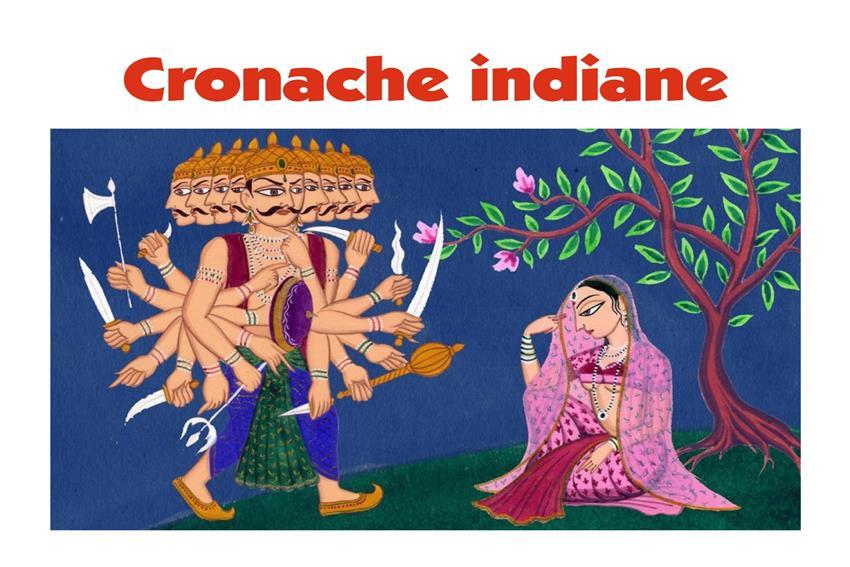 Cronache indiane Storie incontri interviste