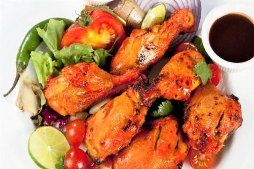 Pollo tandoori piatto tradizionale